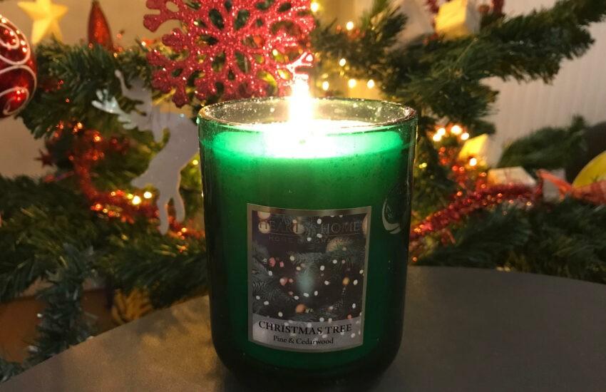 heart & home geurkaars christmas tree
