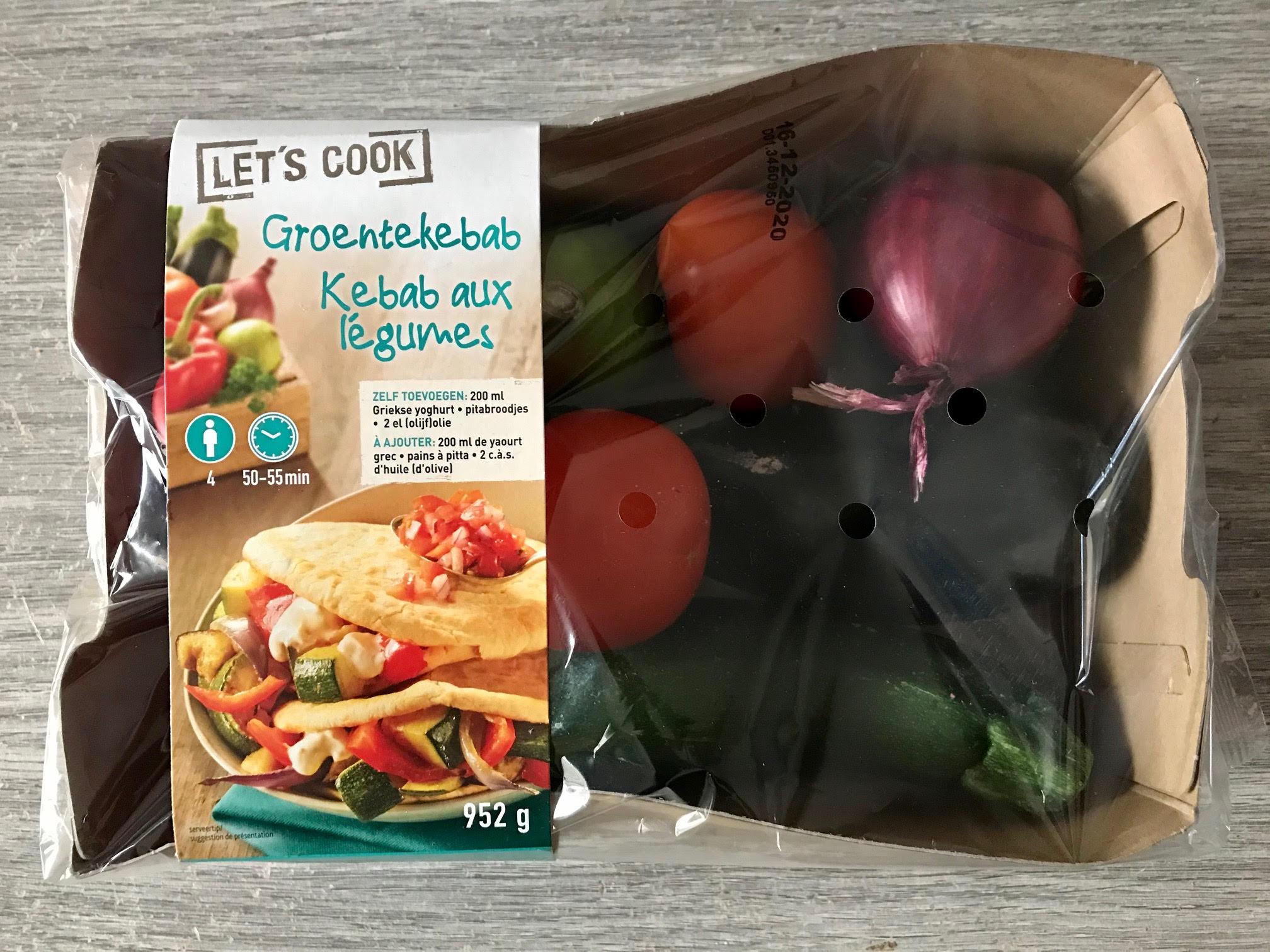 lidl verspakket groentekebab