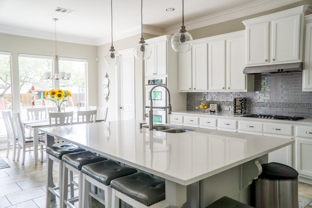 minimalistische keuken inrichten