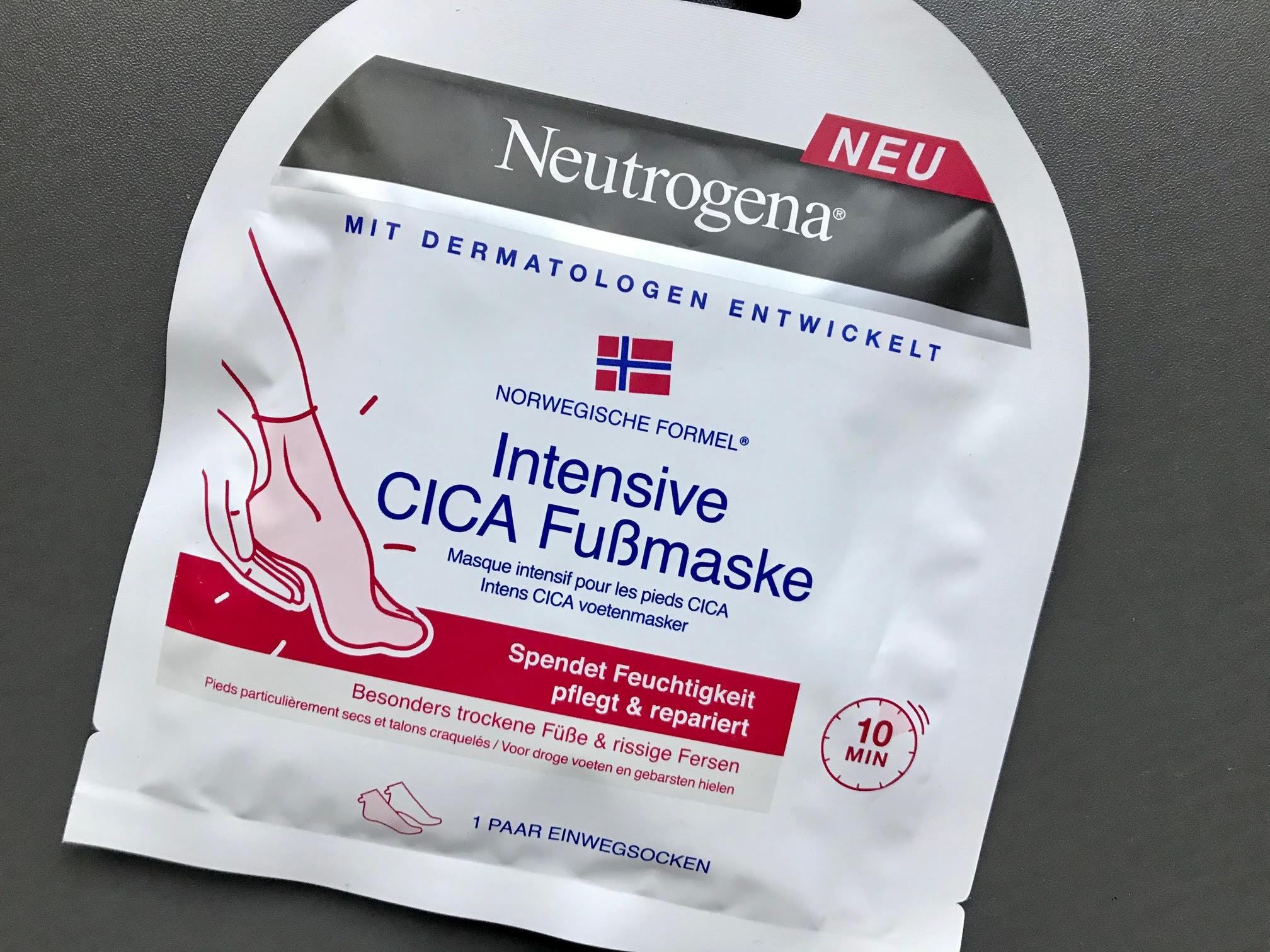 neutrogena voetenmasker