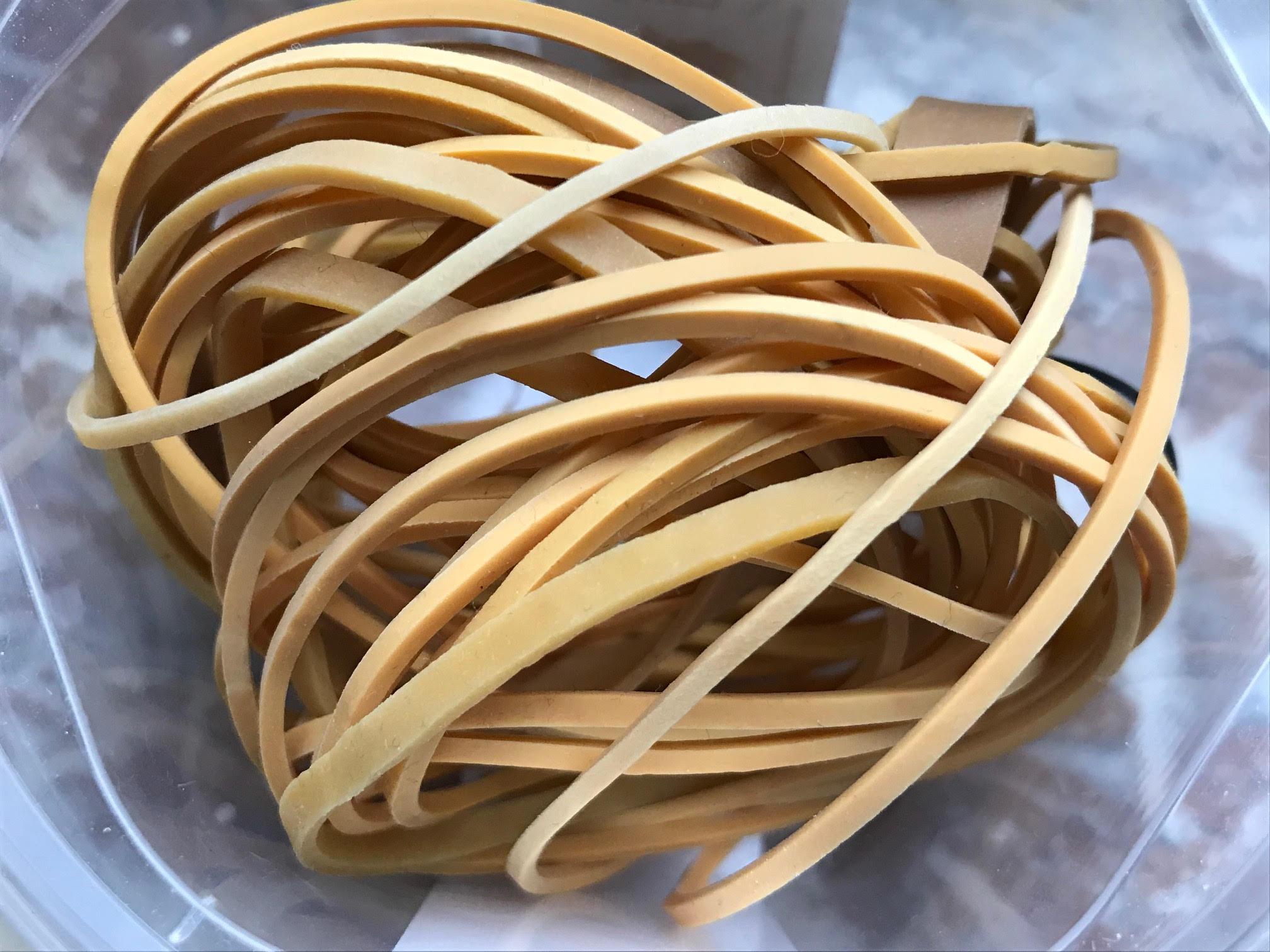 rubberen elastiekjes