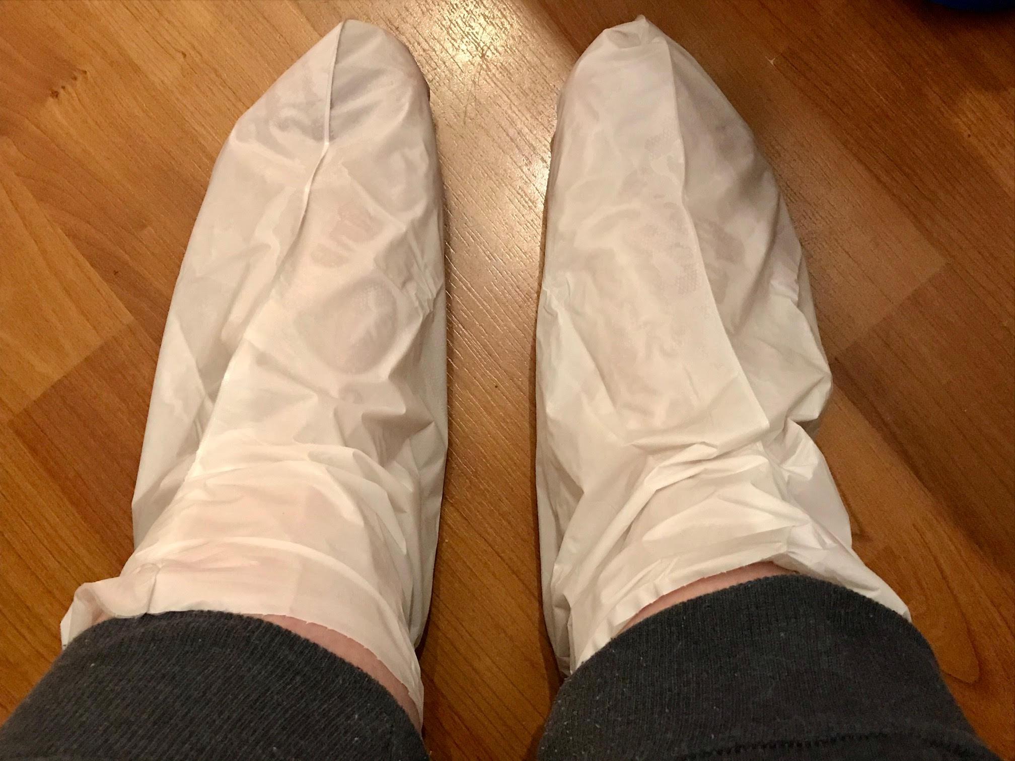 voetenmasker