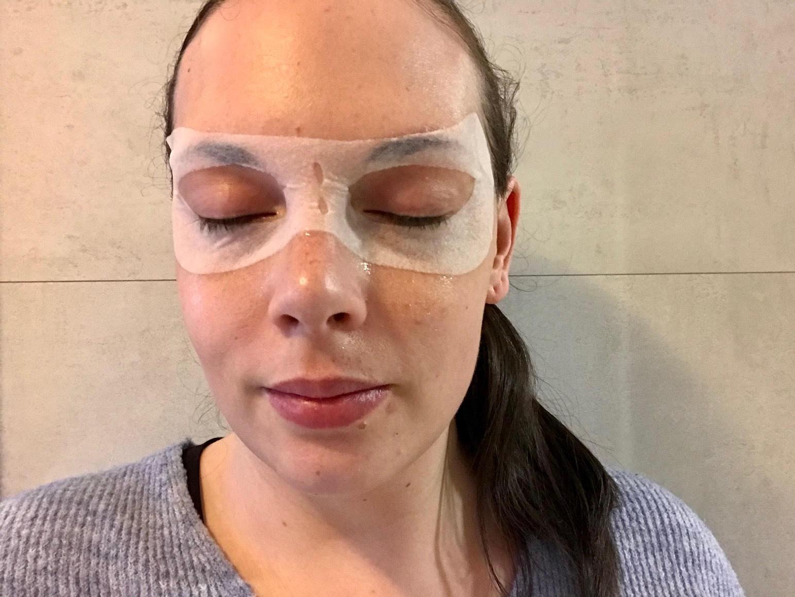 garnier oogmasker