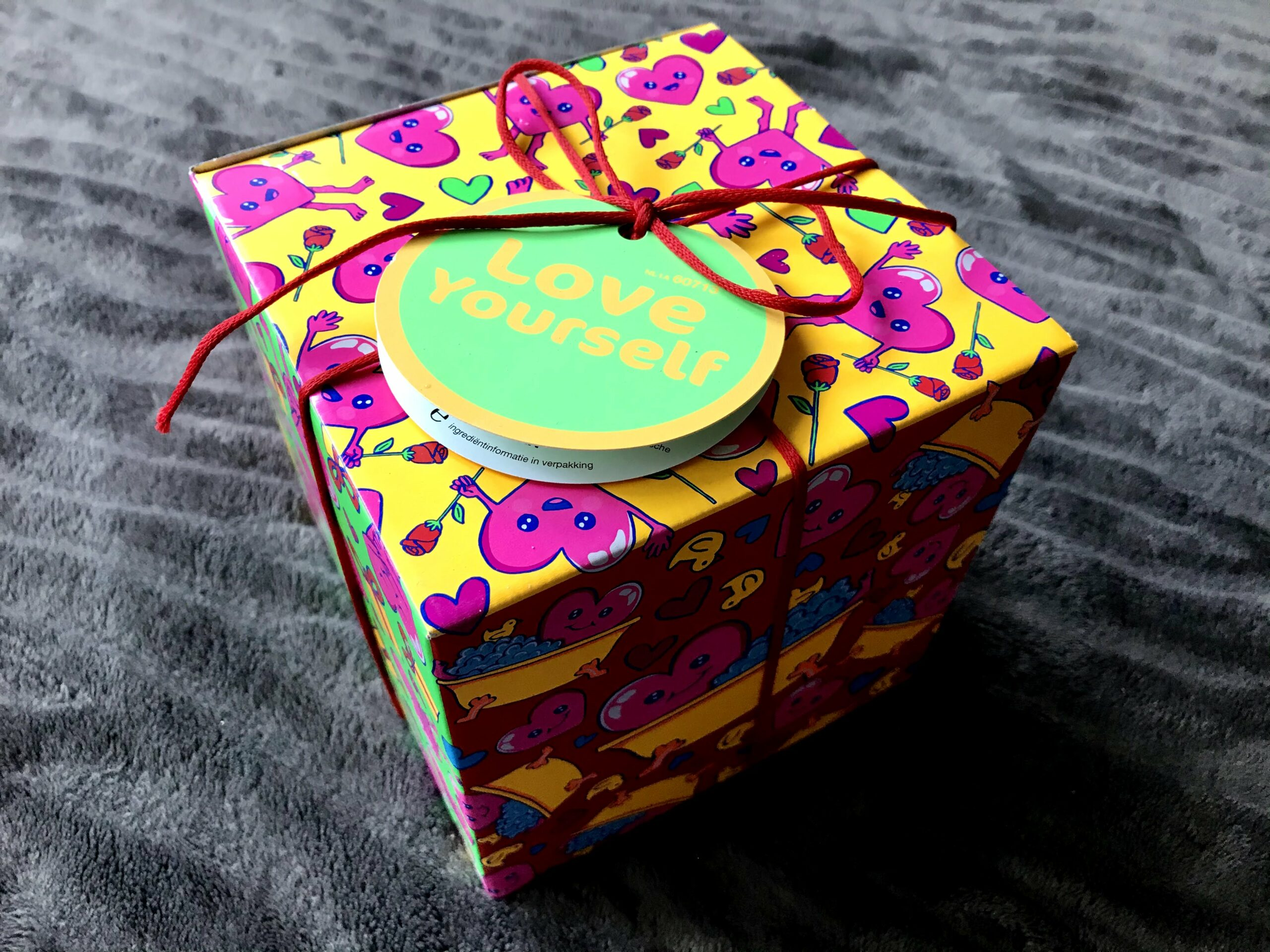 lush love yourself cadeau