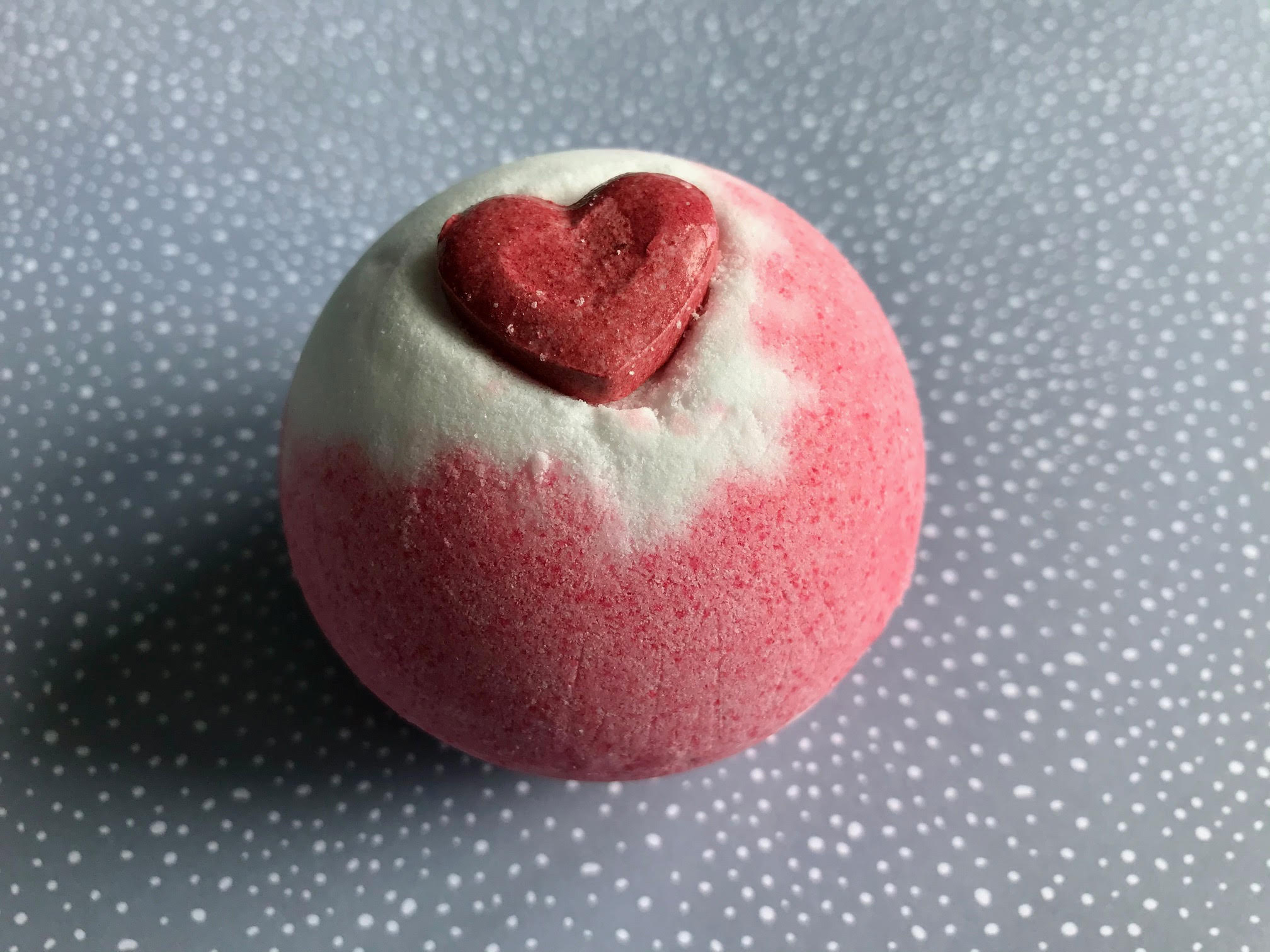 only you rose & lily of the valley bath bomb