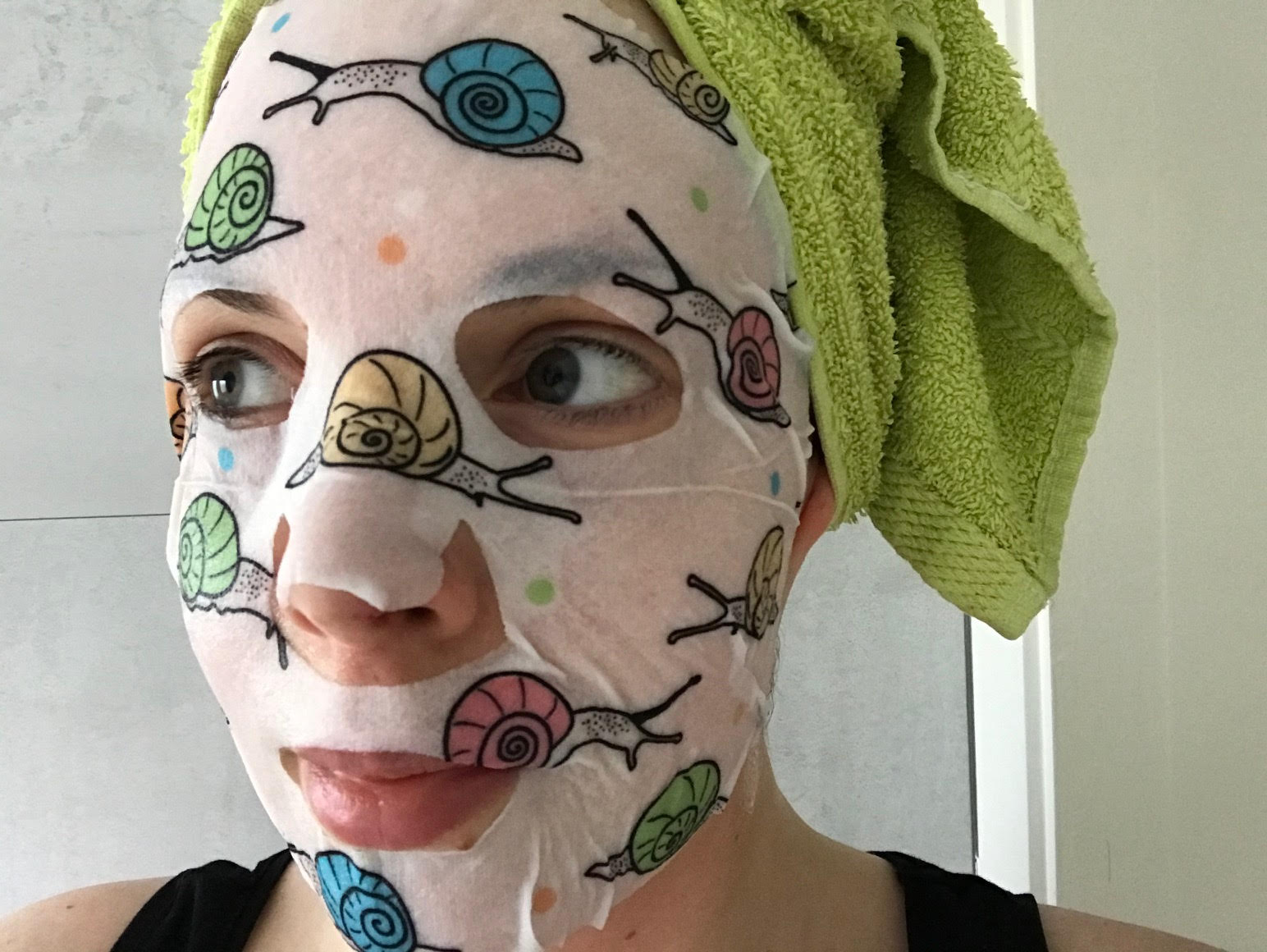 snail essence mask sheet