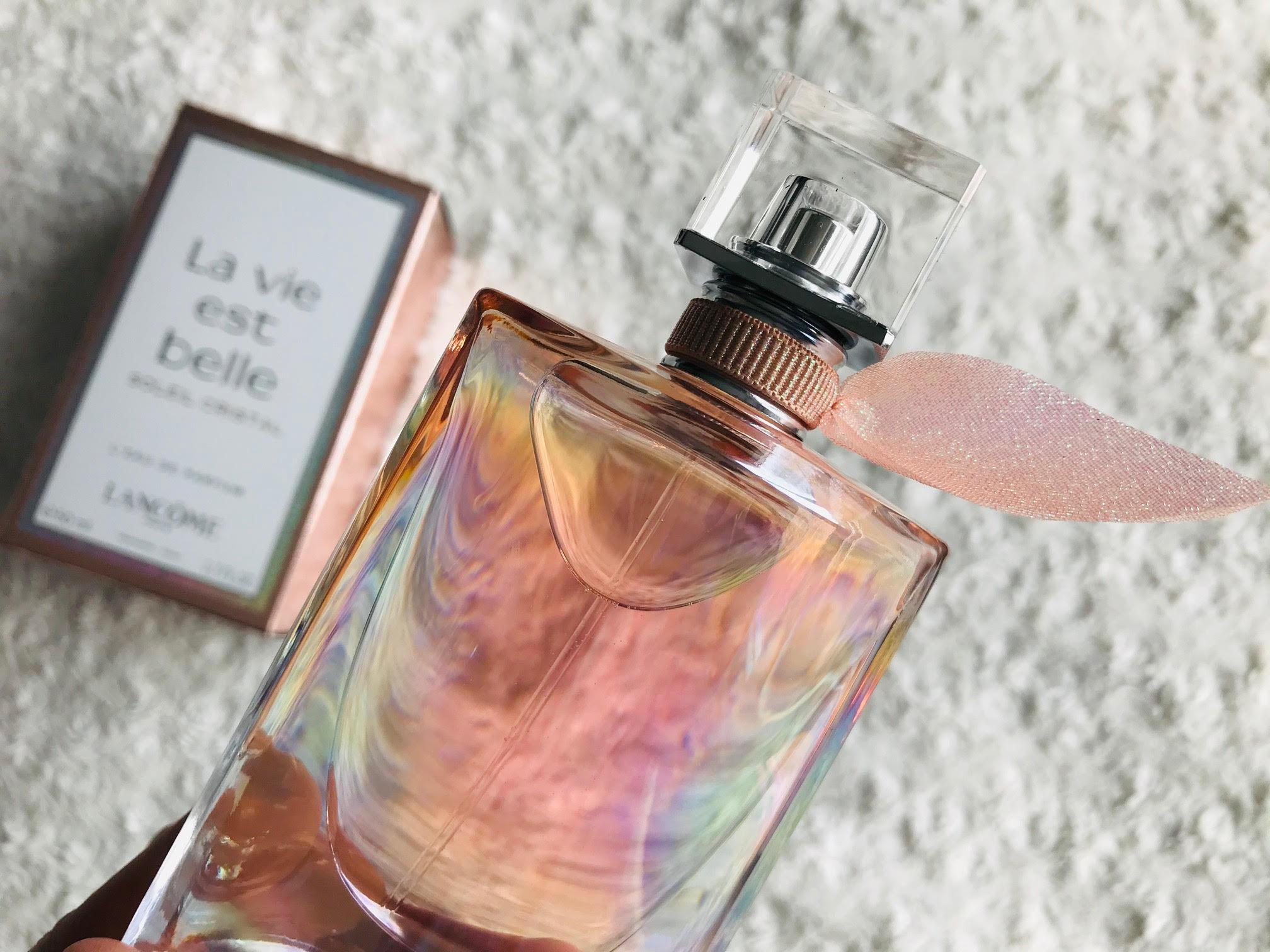 soleil cristal parfum