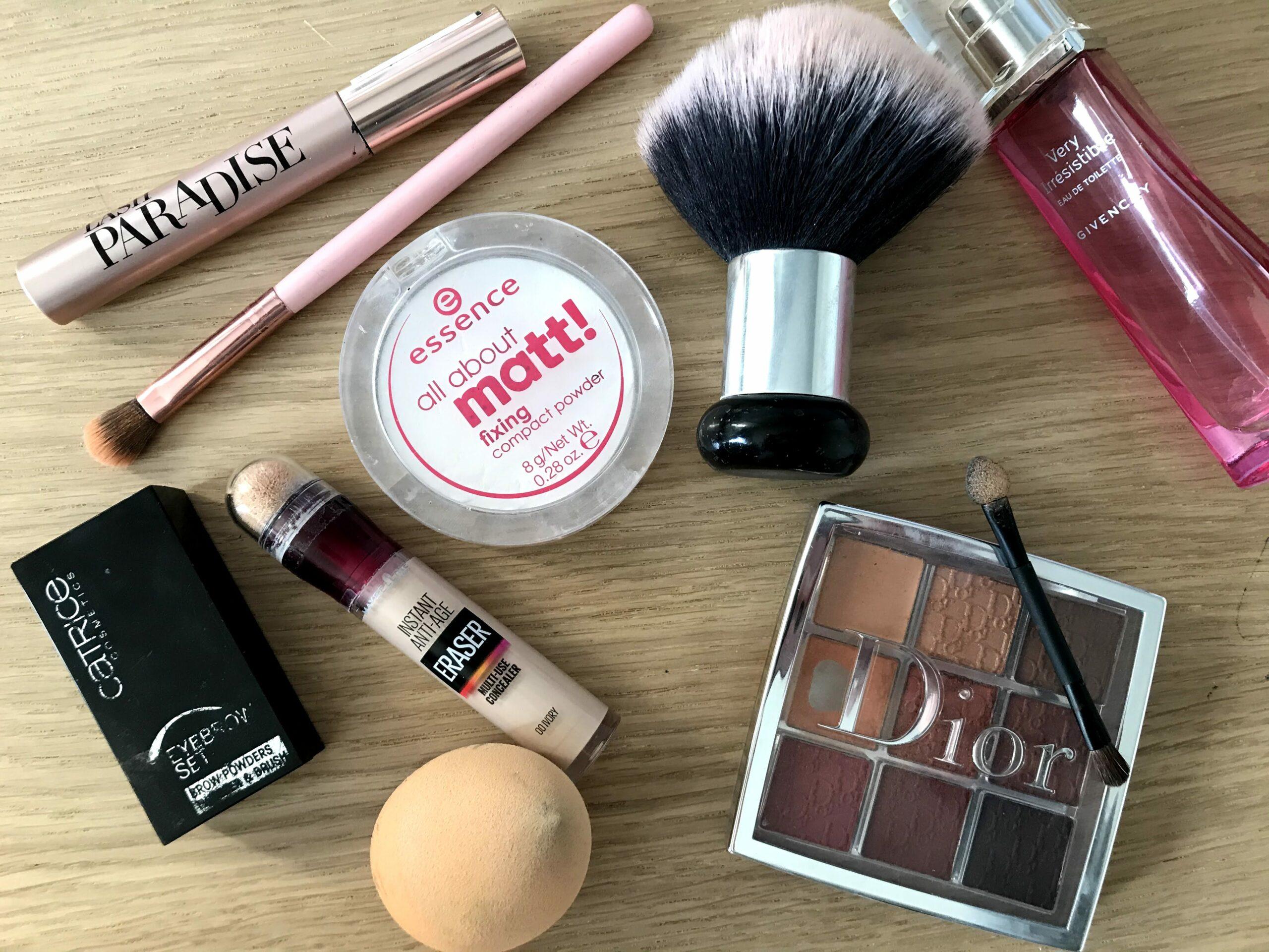 dagelijkse make-up