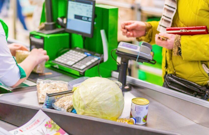 de snelste rij in de supermarkt