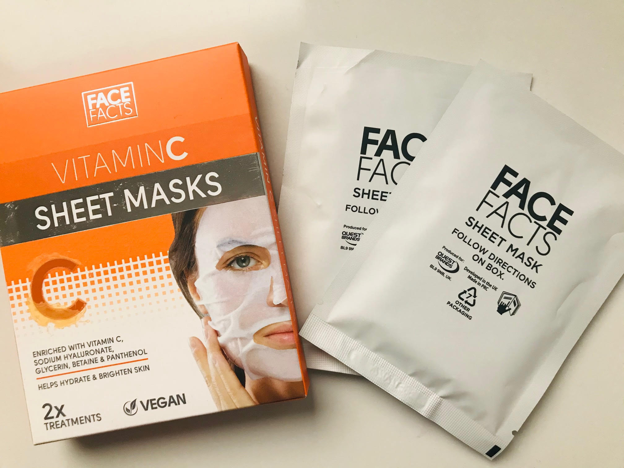 face facts vitamin c mask