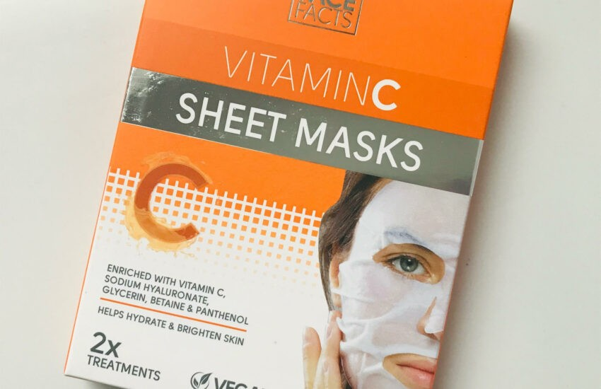 face facts vitamine c sheet mask