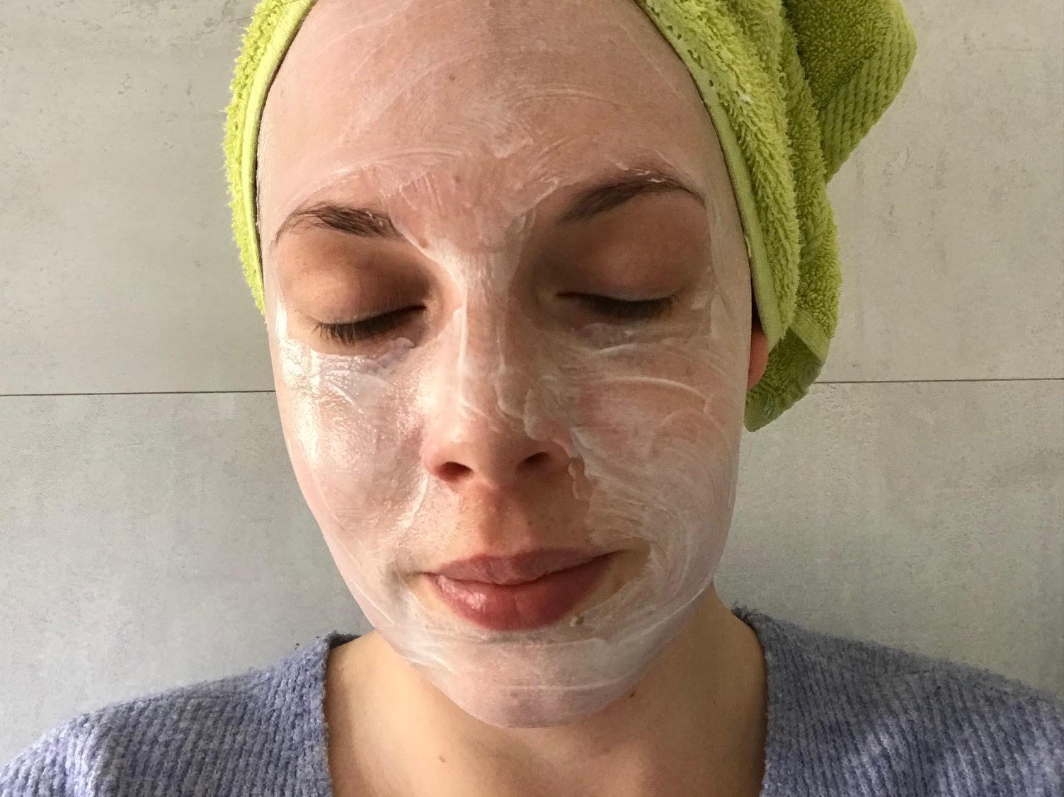 florena hydrating mask 24h