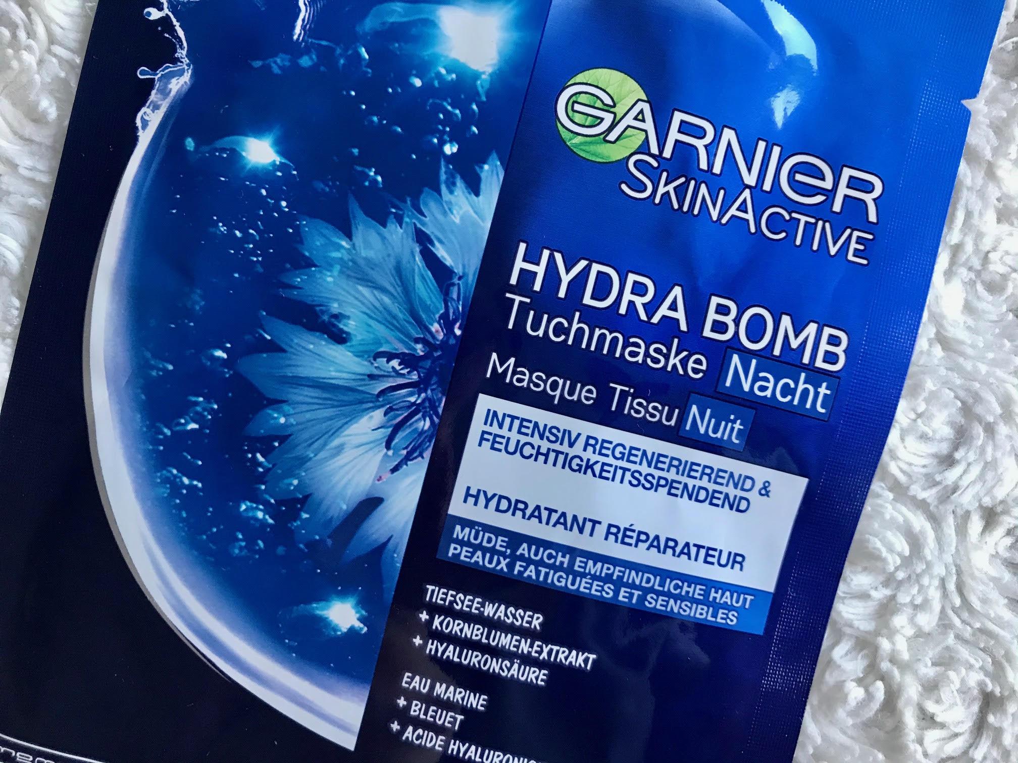 garnier hydra bomb mask