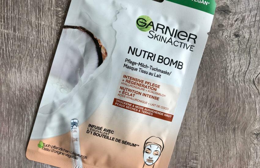 garnier nutri bomb kokos tissuemasker
