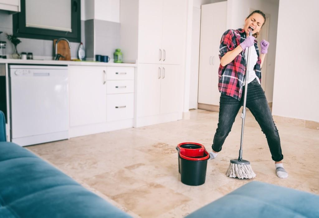 hekel aan schoonmaken