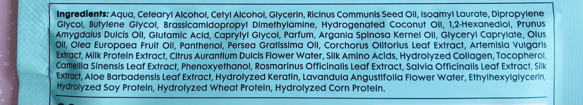 ingredienten hema haarmasker