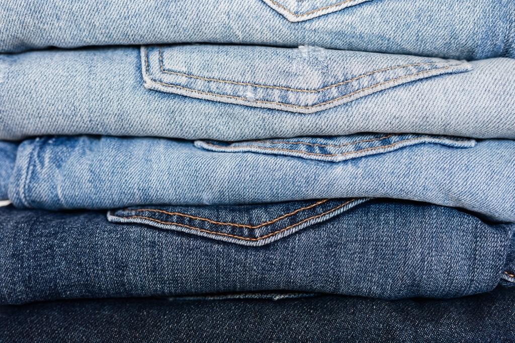jeans niet wassen