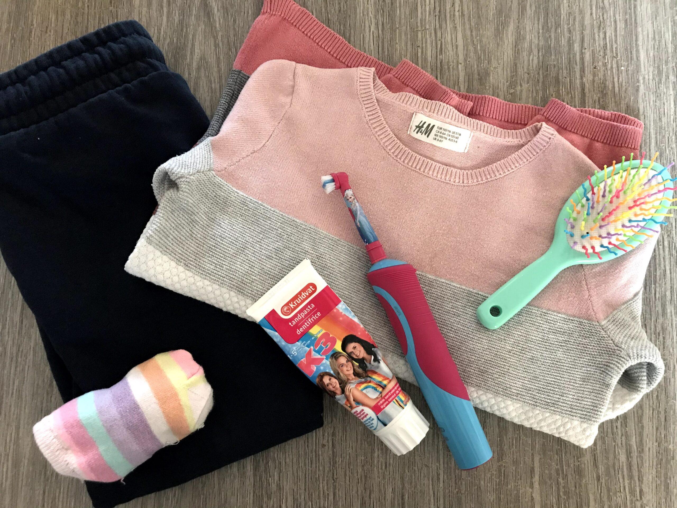 roze trui meisjes h&m
