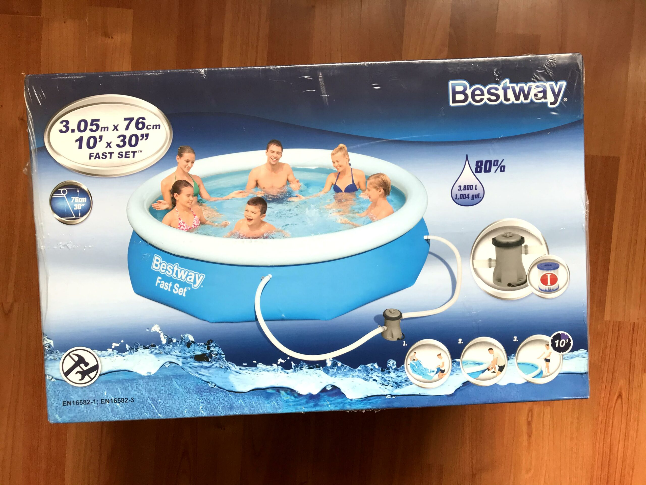bestway zwembad action