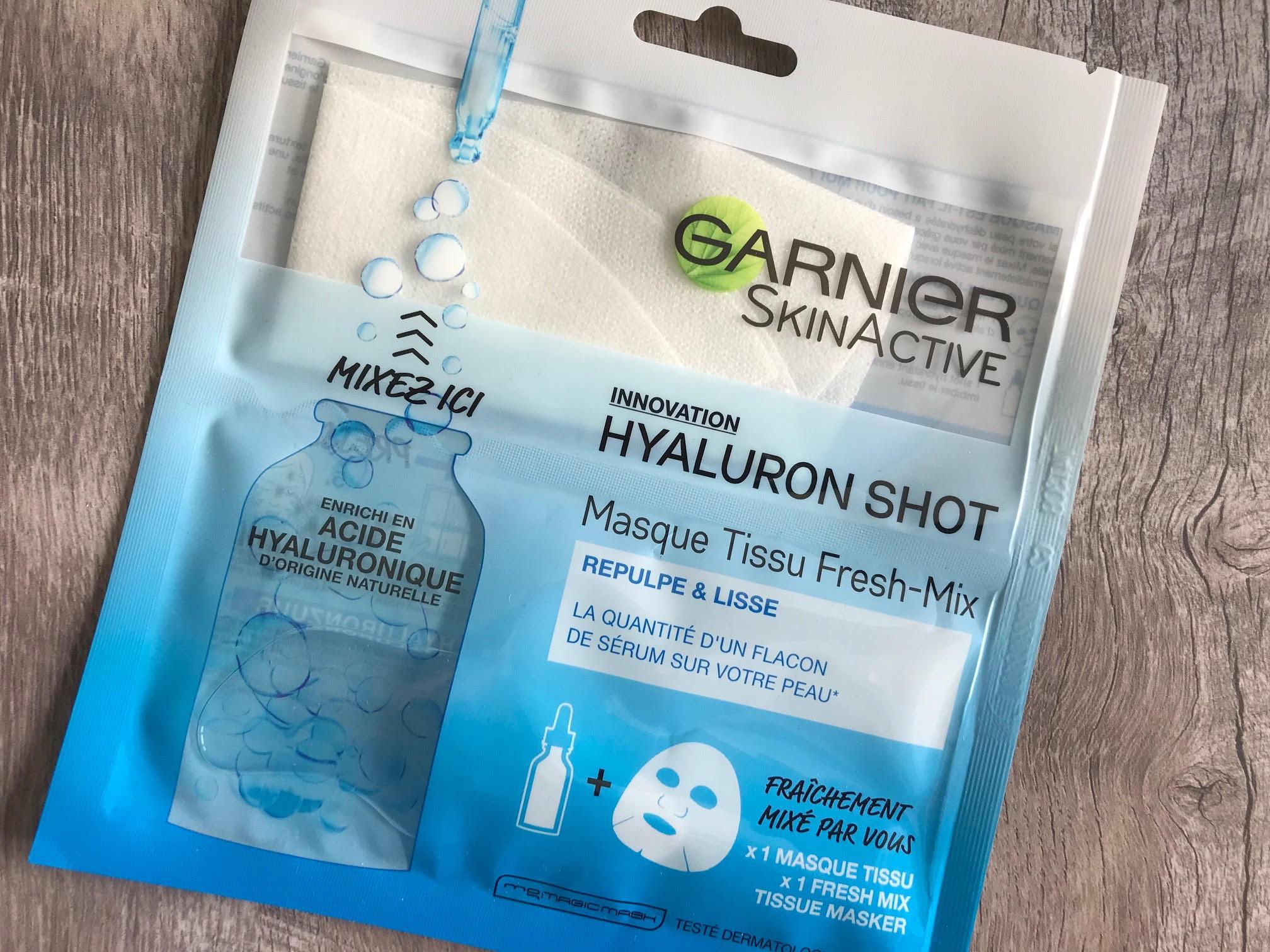 garnier skinactive freshmix hyaluron mask