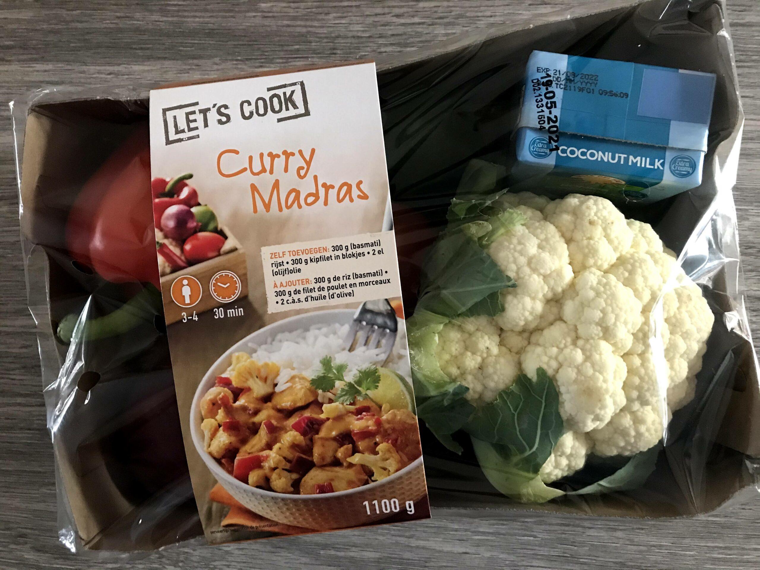 lidl verspakket curry madras
