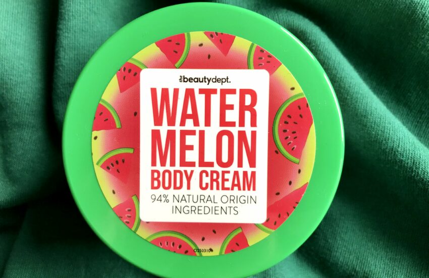 the beauty dept watermelon body cream