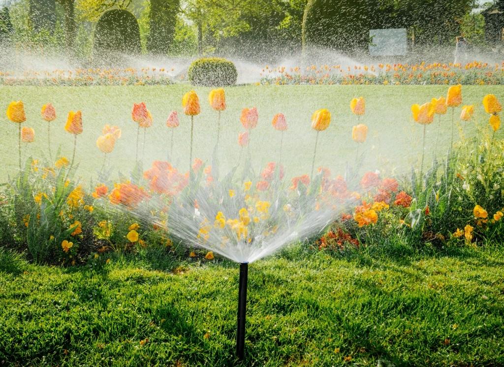 sproeisysteem tuin