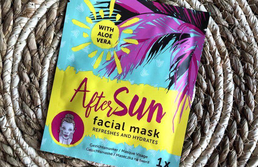 aftersun facial mask
