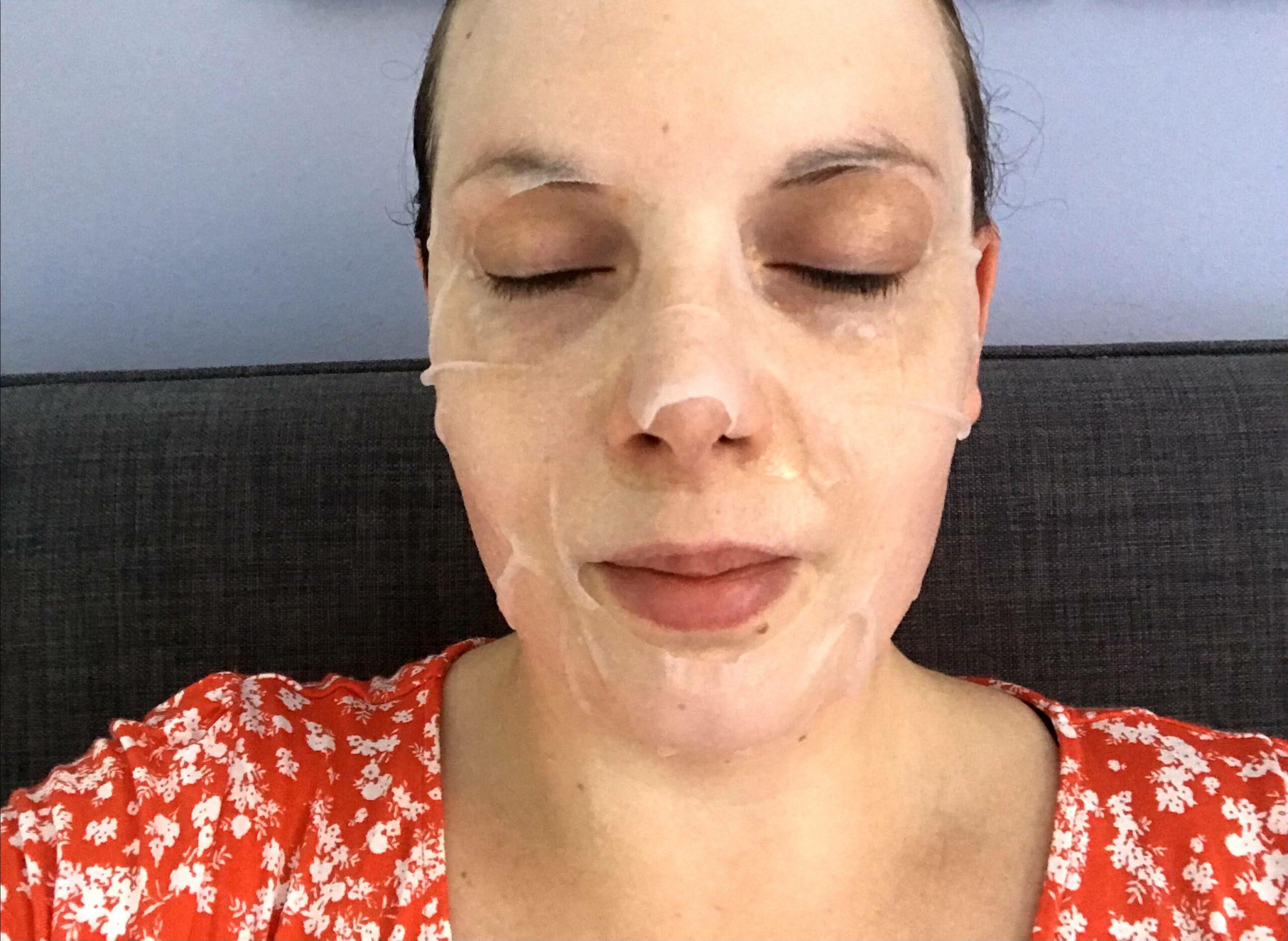 aftersun gezichtsmasker action