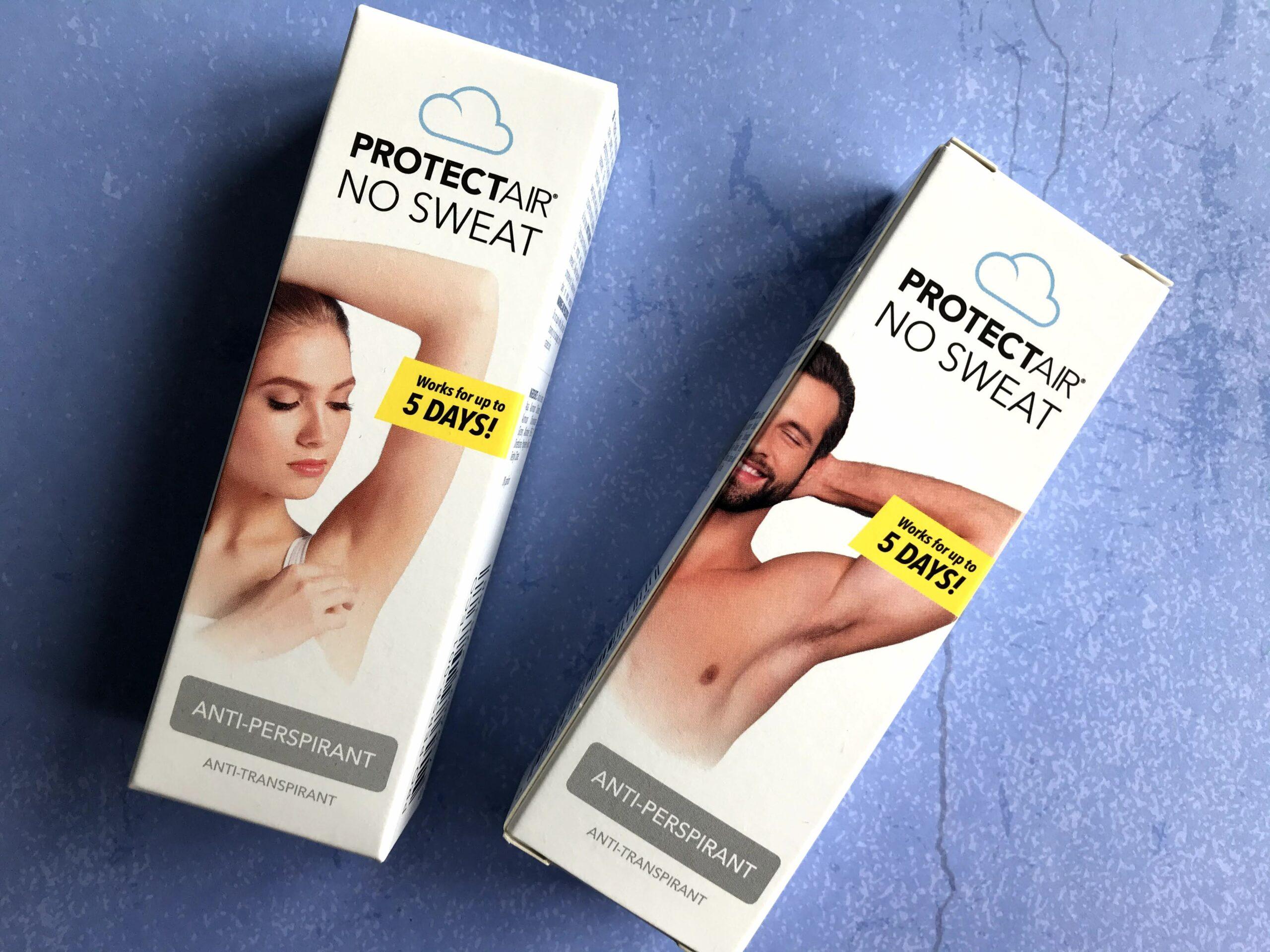 protectair anti transpirant spray