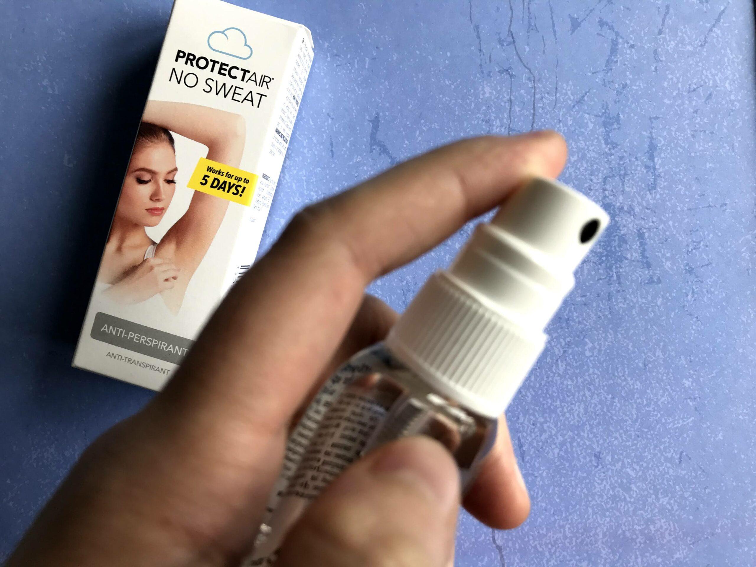 protectair transpirant spray
