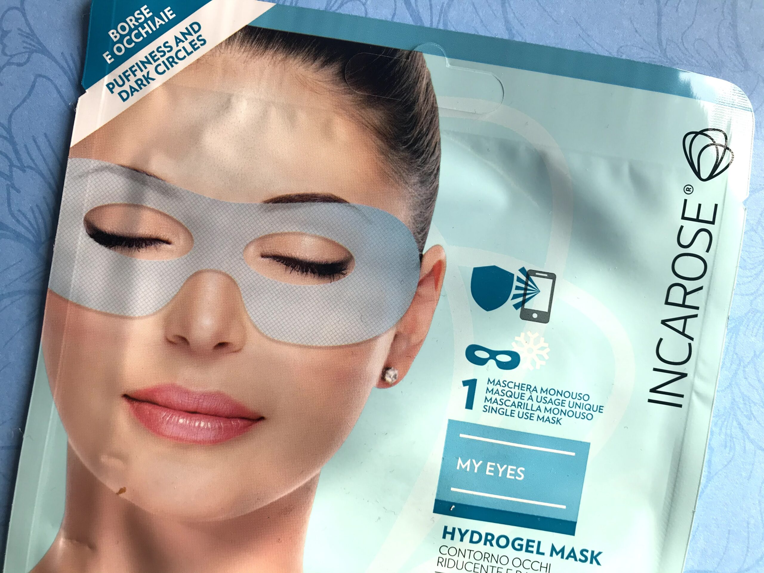 incarose hydrogel mask