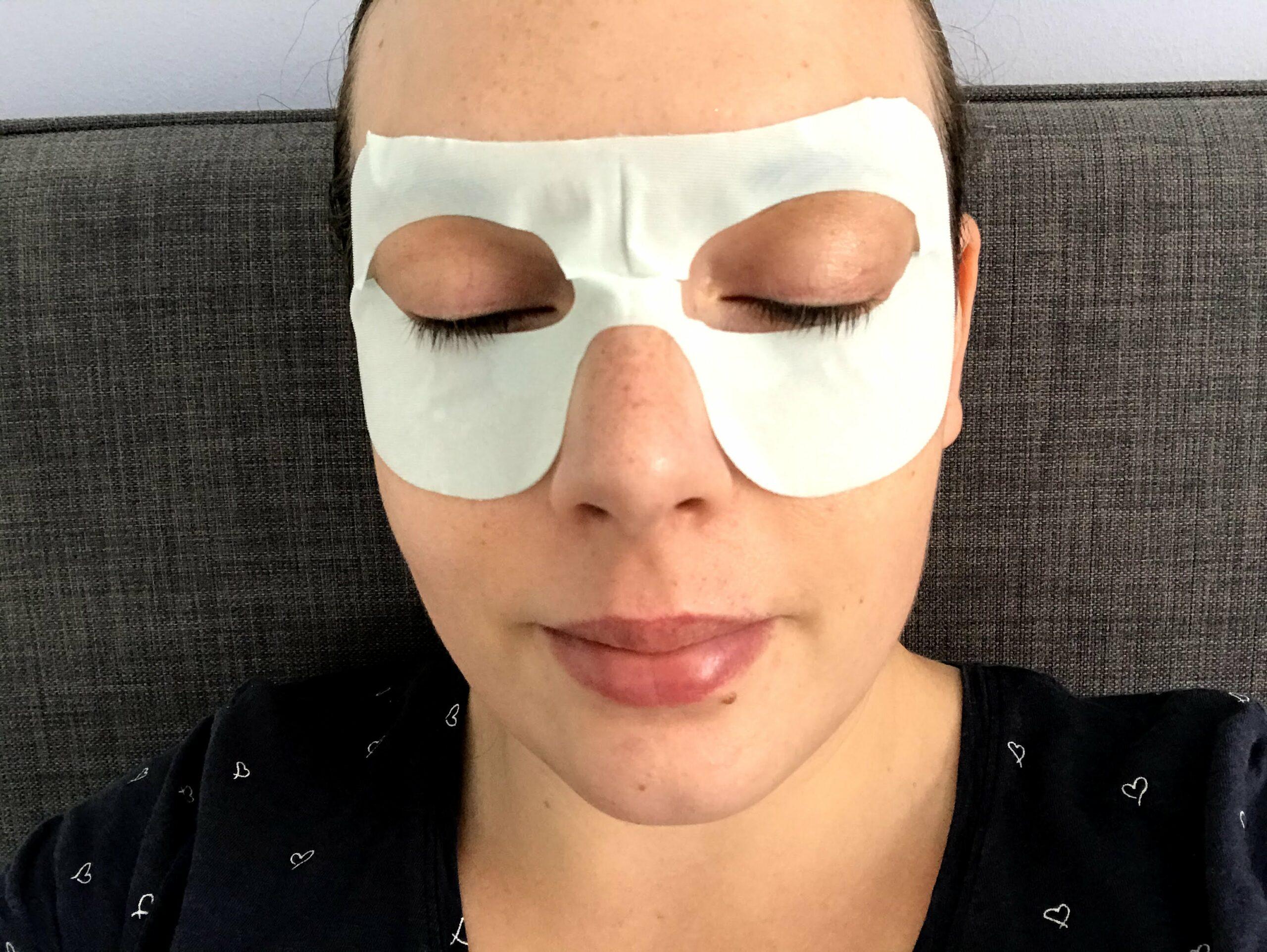 incarose hydrogel oogmasker