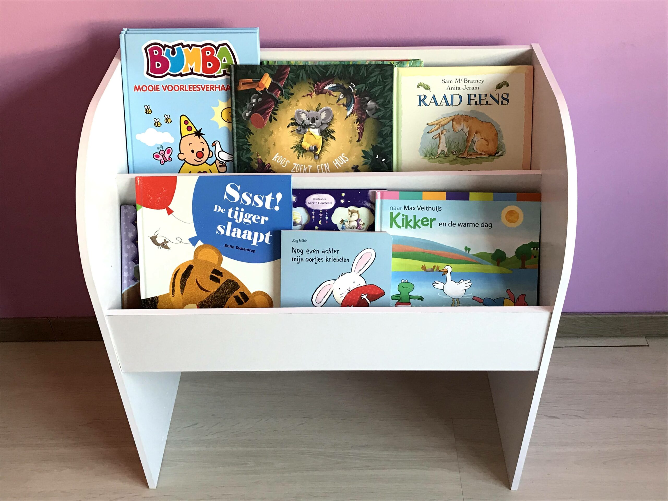 kinderkamer boekenrek