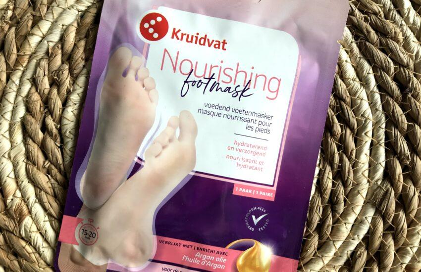 kruidvat voedend voetenmasker