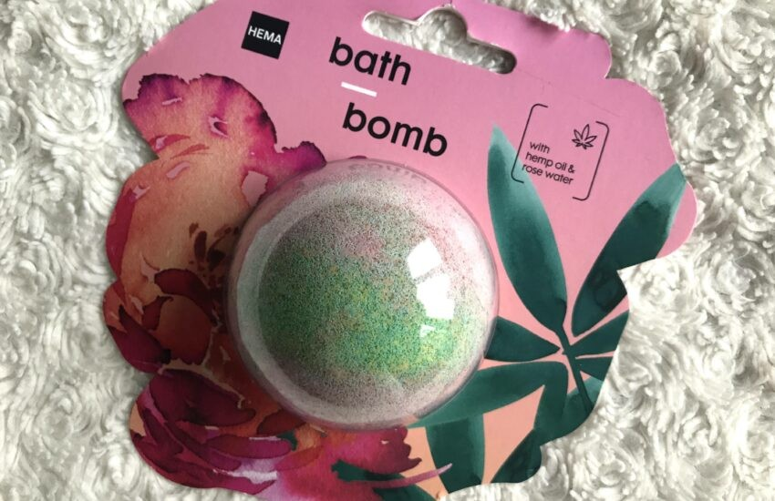 hema badbruisbal hennepolie rozenwater