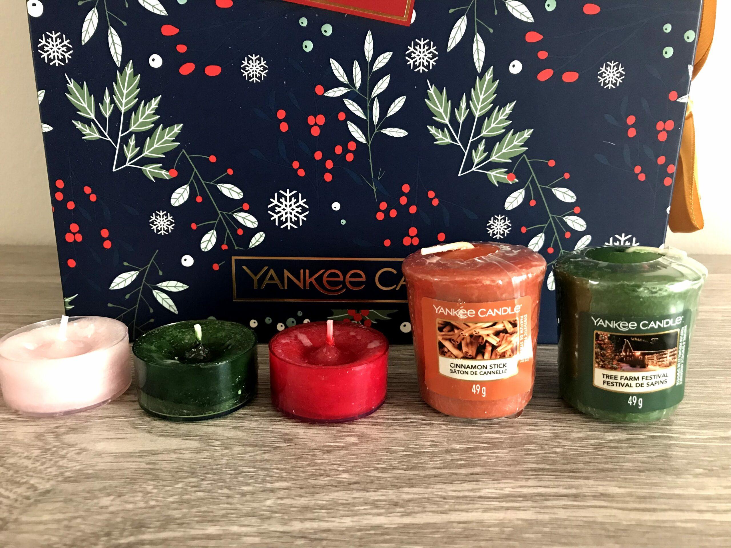 inhoud yankee candle adventskalender