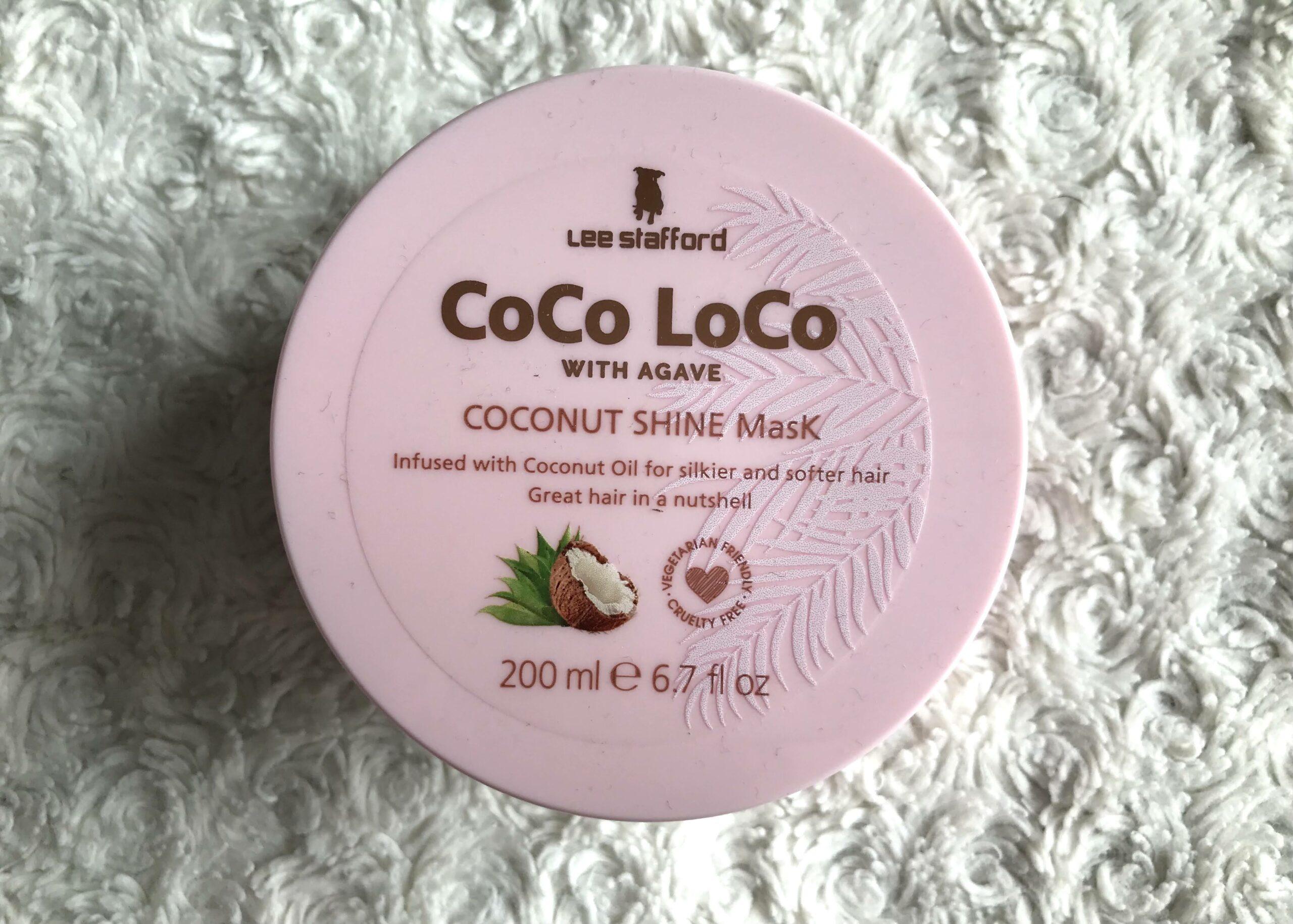 lee stafford coco loco coconut mask