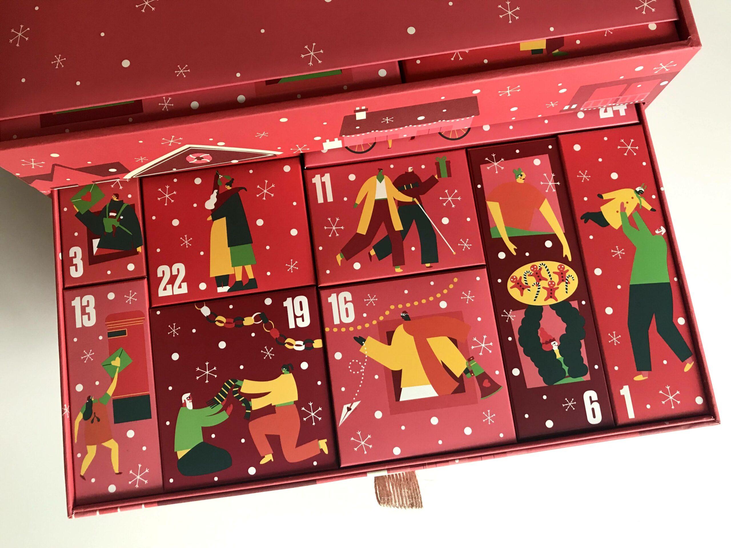 share the love advent calendar