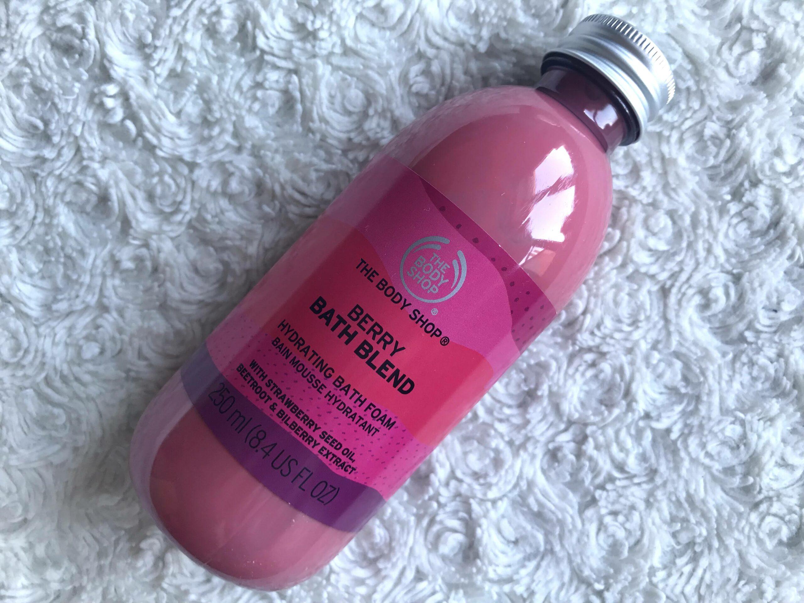 the body shop bath blend berry