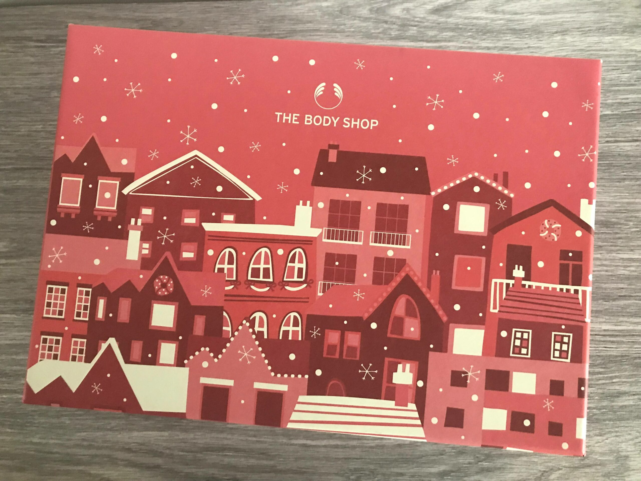 the body shop share the love big advent calender