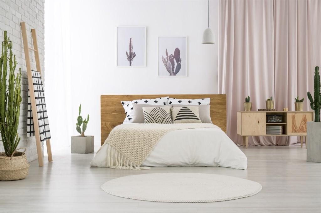 rond tapijt slaapkamer